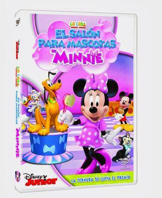 La casa de mickey mouse el salon de las mascotas de minnie dvd pelicula y material extra el - La casa de la mascota ...