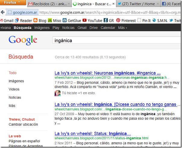 inganica en Google