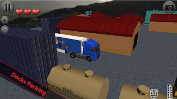 Screenshot of Euro Truck Parking
