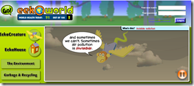 EEK-O-World Website for Your Computer Center on Earth Day