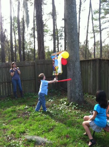 Aidan+Party+Pinata