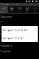 Screenshot of OnlineZeitung Schweiz