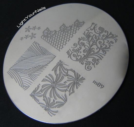 Born Pretty Store stamping plate m89