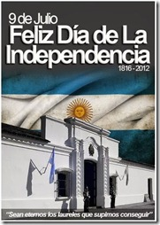 Historia Argentina, Independencia -cartel 2012 -1