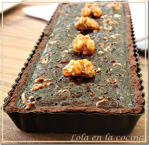 tarta chocolate nueces 3