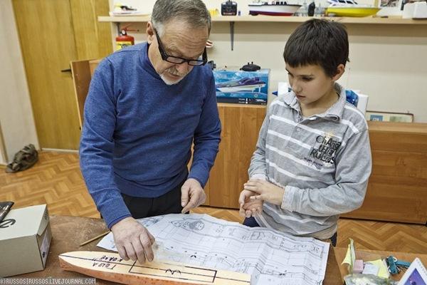 Ecole de modélisme en Russie (8)