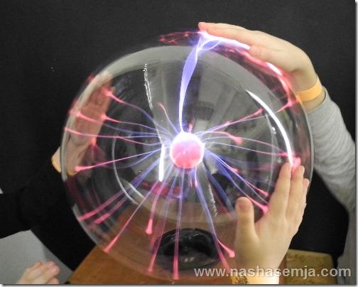 Экспериментаниум: плазменный шар