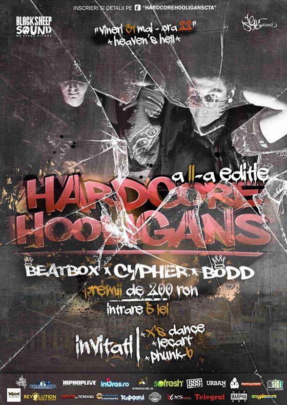 Hardcore Hooligans (afis) #2 - beta3