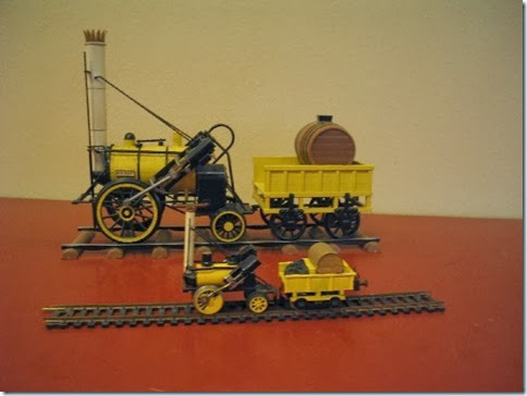 G-Scale & HO-Scale Models of Stephenson's Rocket