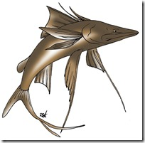 peces clipart blogolorear (3)