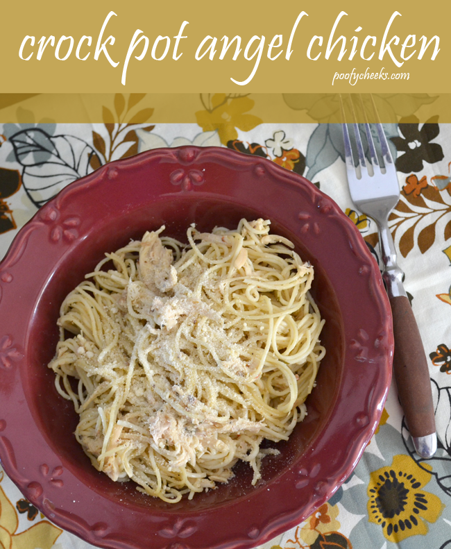 Crock Pot Angel Chicken from Poofy Cheeks