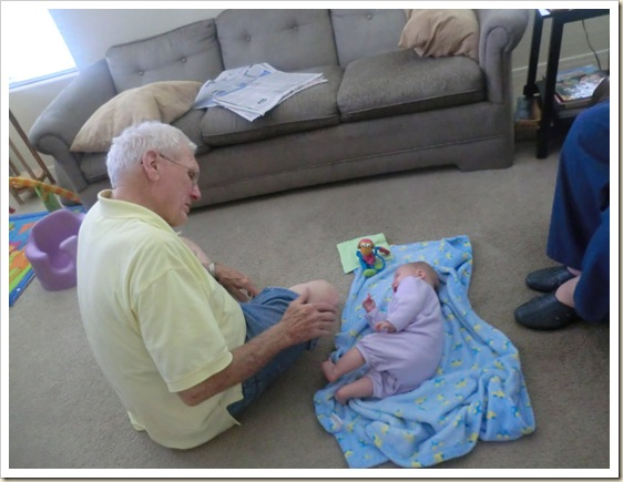 8-22-11 Grandad and Maddie Philp