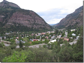 337 Ouray from above