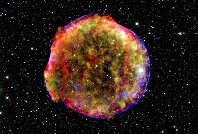 supernova Tycho - SN 1572