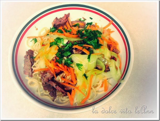 Beef Flank Steak Salad