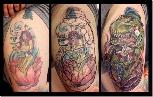Como cobrir uma tatuagem formidavelmente