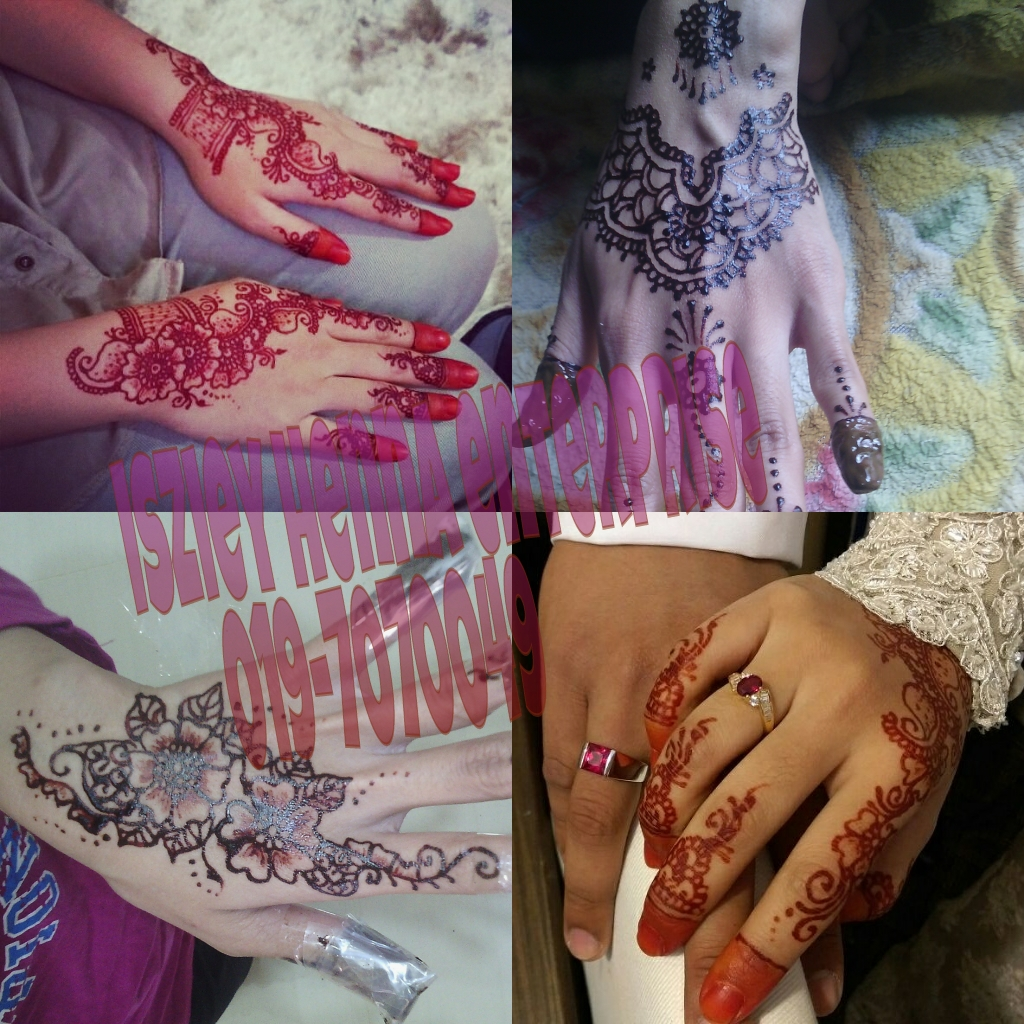 Maziani Saad Mua Henna Terengganu
