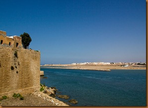 Rabat, mouth of river