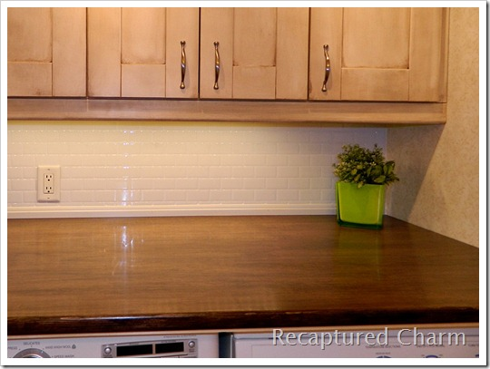 Laundry counter top 014a