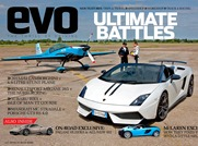 Huge magazine cover from EVO magazine