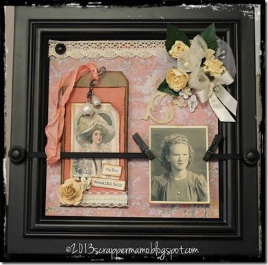 framed beauty with borders