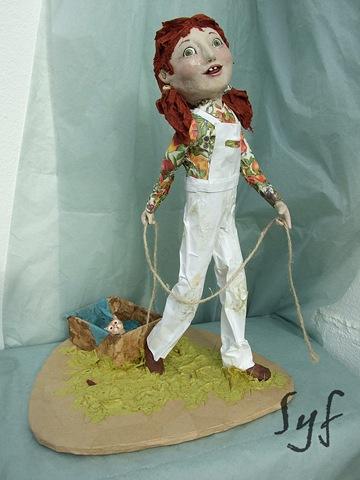 muñeca papel mache-6
