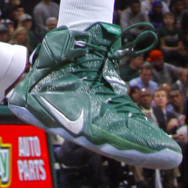 Nike LeBron 12 Michigan State Spartans Home amp Away PEs