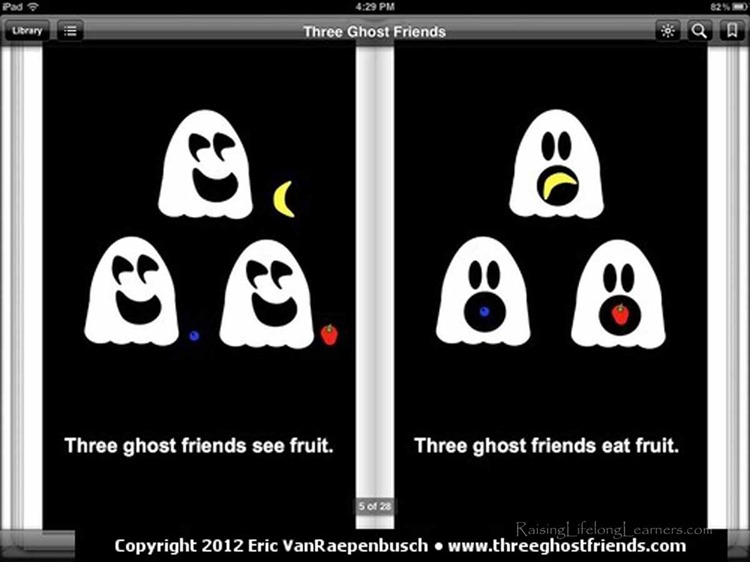 Making a Ghost Cake via www.RaisingLifelongLearners.com