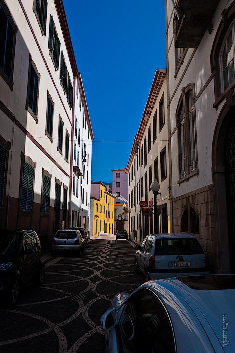 16. Фотопрогулка по улицам города. Улочки. Фуншал. Мадейра. Португалия. Круиз на Costa Concordia.