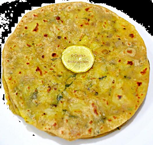 Aloo paratha3