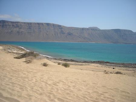 Plajă din La Graciosa Lanzarote