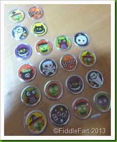 Hobbycraft Halloween Stickers