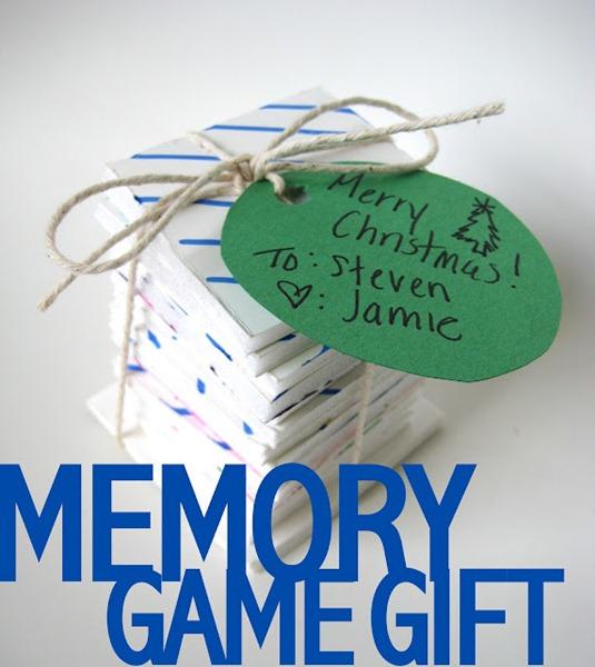 Memory Game Gift