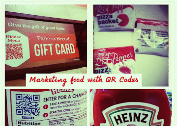 QR Codes and Food