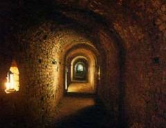 Torino, cunicolo sotterraneo