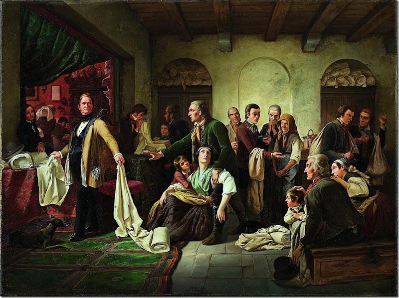 carl wilhelm hubner, tkacze śląscy 1844