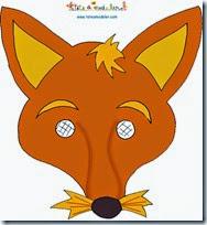 mascara de zorro animales (7)