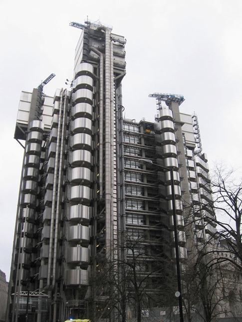 52. Lloyd's building (Londres, Reino Unido)