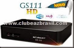 NOVA ATUALIZAÇÃO GLOBALSAT GS 111 HD E PLUS -