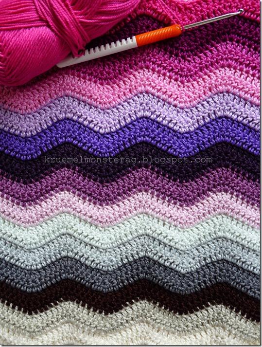 Ripple Blanket #2 Part 3 rooosa