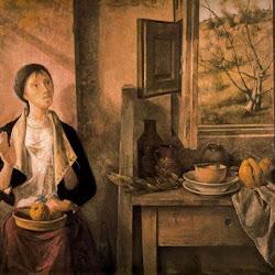 Manuel López Villaseñor (1978):Mujer que escucha el canto de un pájaro