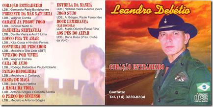 Leandro Debétio Capa