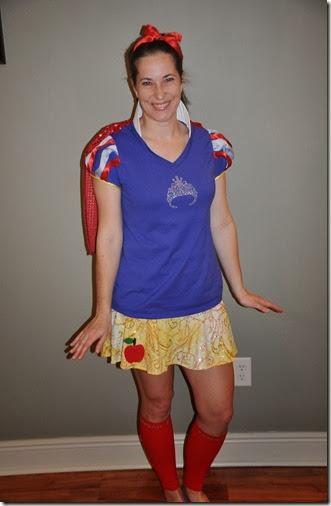 Princess Half Marathon Costume Snow White