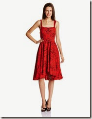 Amazon : Buy The Vanca Women's Silk Skater Dress at Rs. 329 only