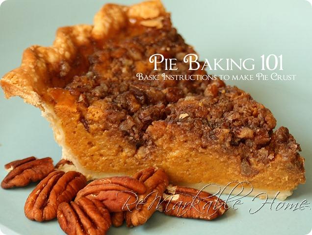 pie baking 101
