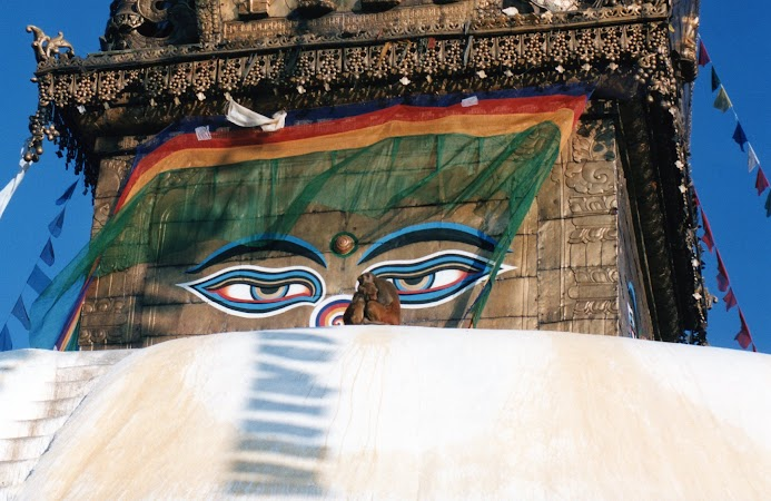 Obiective turistice Nepal: Swayanbunath.jpg