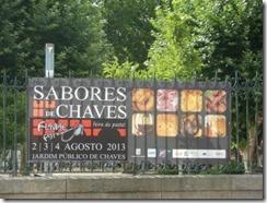 Agosto - Sabores de Chaves no Jardim Público Jul.2013