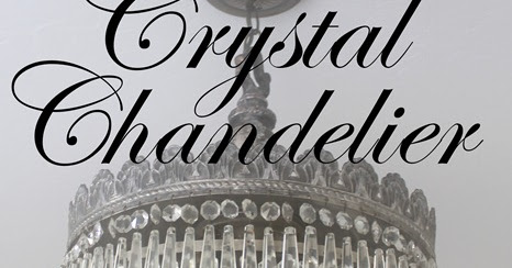 how to clean antique chandelier crystals