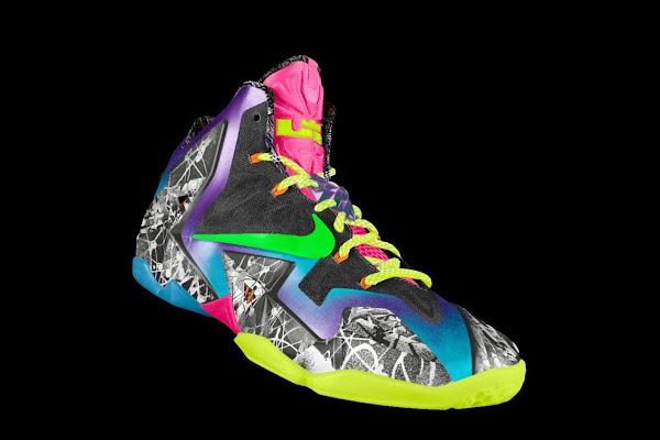 Nike Unleashed Endless Possibilities with LeBron 11 Gumbo iD