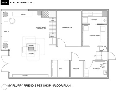 my fluffy friend's pet shop interior design retail contemporary color kitsilano vancouver dog decor floor plan